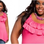 Affordable plus size clothing for teenager Sleeveless