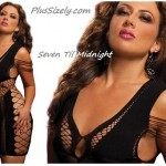 Black Cheap Club Dresses for Plus Size Seven Til Midnignt