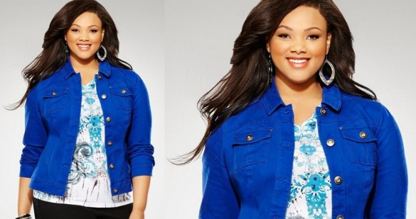 Plus Size Denim Jacket for Fashionable Style | www.PlusSizely.com
