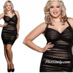 Cheap Brown Club Dresses for Plus Size Black Mini Style