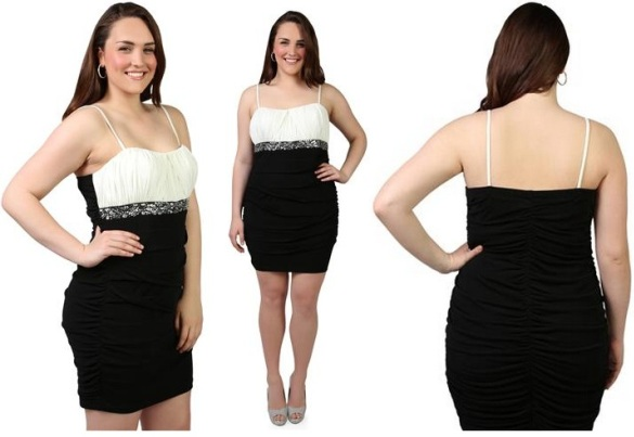 Cheap club dresses online black and white beaded waist