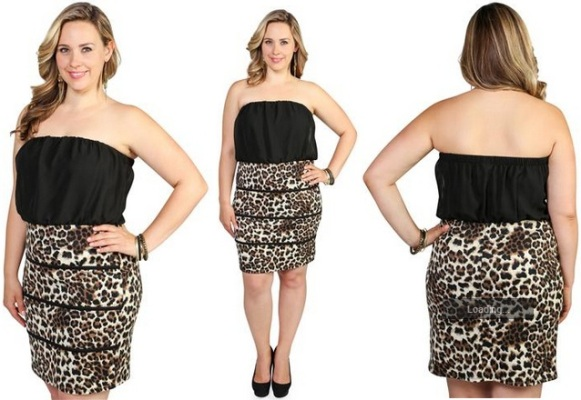 Cheetah print club dress for teenager