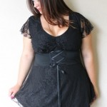 Club dresses plus size Corset Top