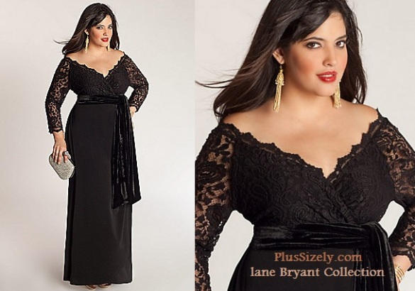 Plus Size Special Occasion Dresses to Elegant Look Plus Size Black ...