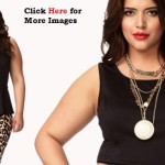 Plus Size Clubwear Dresses with Simple Design