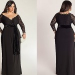 Plus Size Special Occasion Dresses Black Onyx