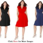 Plus size club dresses for young women Cap Sleeve Empire