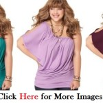 Plus size clubwear for women by Soprano Green Violet Red