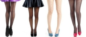 Plus size tights for women, Black, Nude, Navy