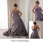 Cheap Plus Size Wedding Dresses, Look Slimmer