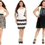 Plus size white clubwear Trendy by Soprano