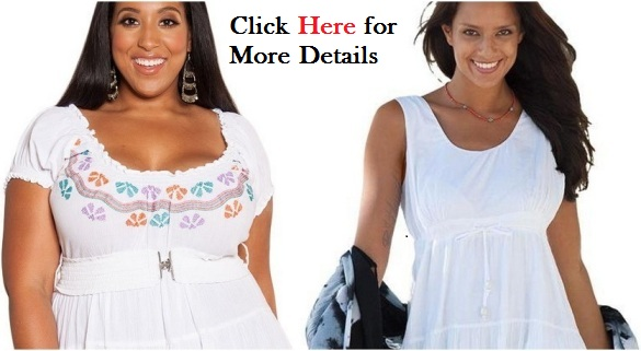 Plus size white dress for women sleeveless Petite With 3 Tiers and Kiss Designs