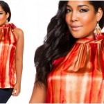 Red Plus size clothing A Line