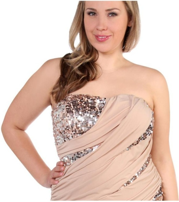 Plus Size Club Dresses for Teenagers, Elegant Style Sequin club ...