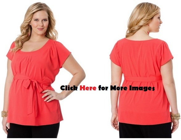 Trendy plus size clothing for pregnancy  Sleeve V Neck Hibiscus