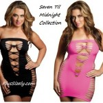 Unique plus size club dresses 30 for woman - Sexy Black and Pink Style