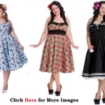 Vintage Plus Size Clothing, Elegant Appearance