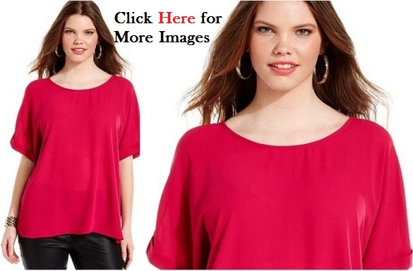 red clothes for juniors neckline with sleeves
