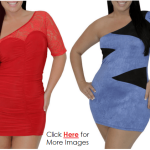 2013 plus size club dresses