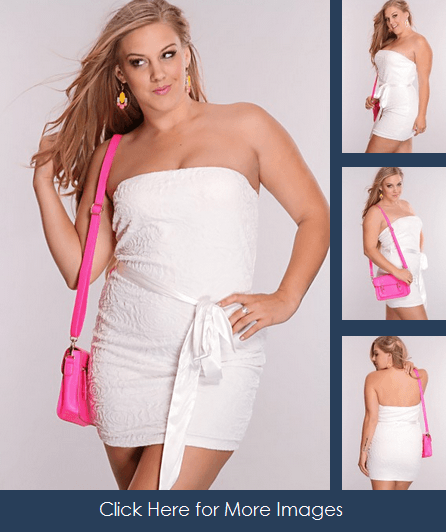 All white plus size club dresses short skirt White Floral Texture Sexy Dress  Satin Waist Tie classy short dress