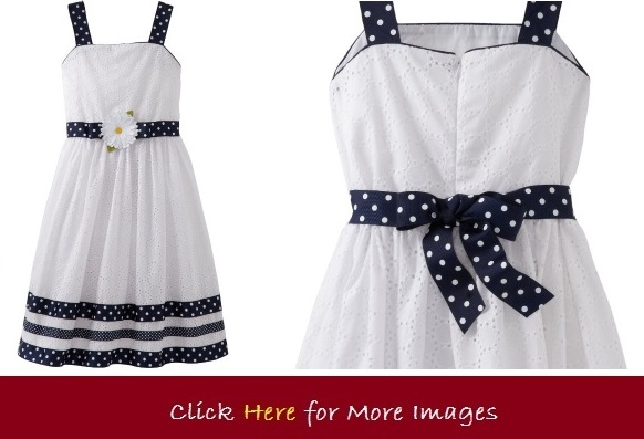 Black and white holiday dresses for girls Sweet Heart