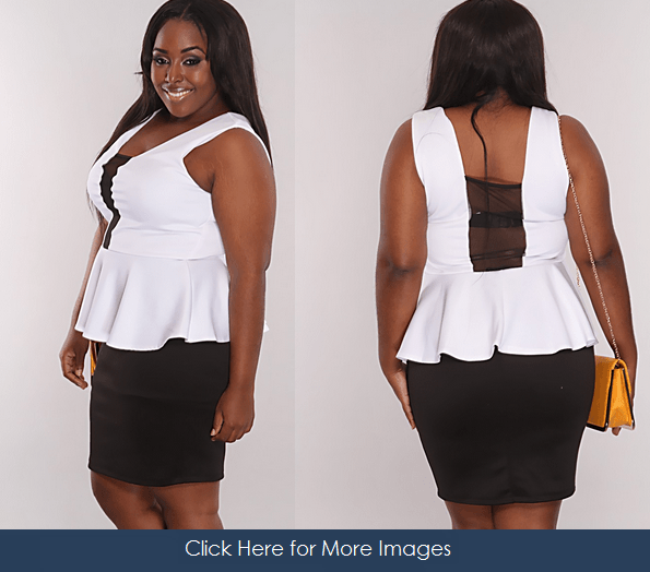 All White Plus Size Club Dresses, Shine in the Night! | www ...
