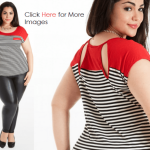 Cheap plus size trendy clothes red black and white