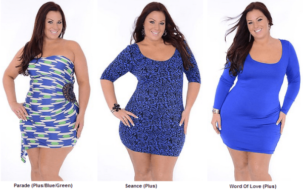 Club Dresses Plus Size Women Club dress plus size women - Blue ...