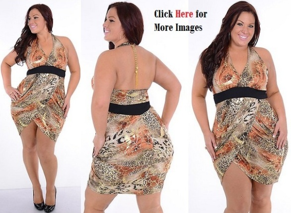 plus size clothing for young women, beautiful and sexy colorful