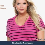 Fall 2013 fashion trends pink Twisted V-Neck Tee