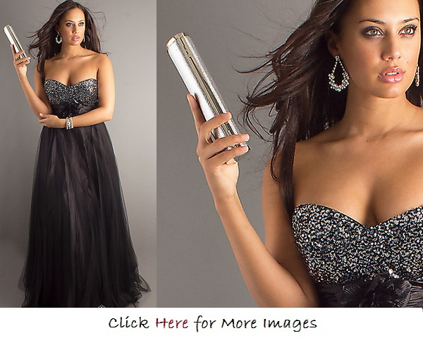 Formal dresses for curvy women Length A Line