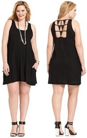 Little Black Dress Plus Size for Woman\'s Formal Clothes ...