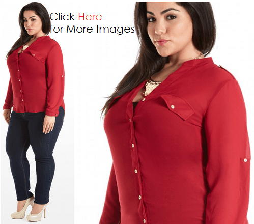 Long sleeve plus size clothing for cheap