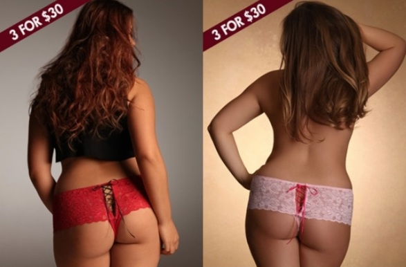 Plus Size Panties as Women's Underwear | www.PlusSizely.com