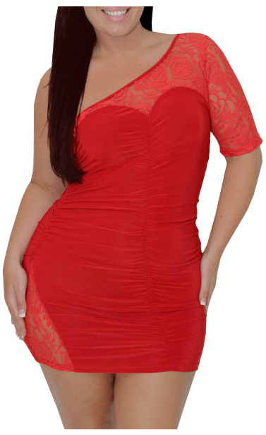 Plus size club dresses 2013 for curvy figure