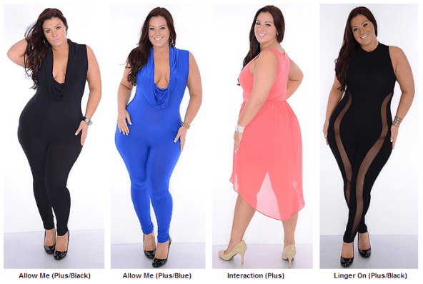 Club Dresses Plus Size Women | www.PlusSizely.com