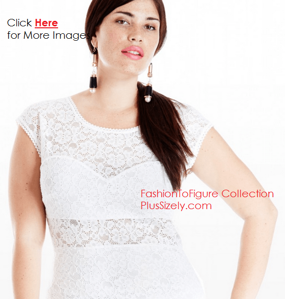 All White Plus Size Club Dresses Shining In The Night Plus Size