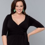 Plus size little black dress for women Harlow simple designs