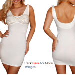 Plus size white club dresses for girls and women Glittering and Padded