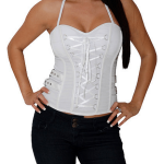 Removable halter white club wear 2013