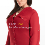 cheap plus size red dresses for women