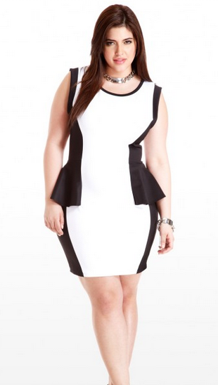 black and white party clothes