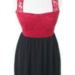 Black and Red Party Dresses 2013 Clubdresses, Nightclub wear