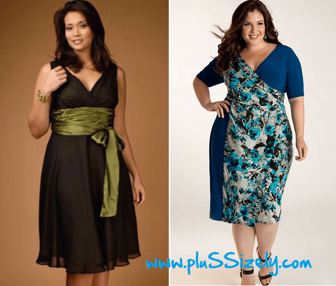 Plus Size Designer Women's Clothes Cute Design Plus Size Womens