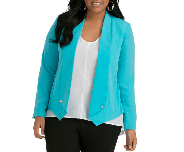 Soft Look Plus Size Fall Jackets 2013