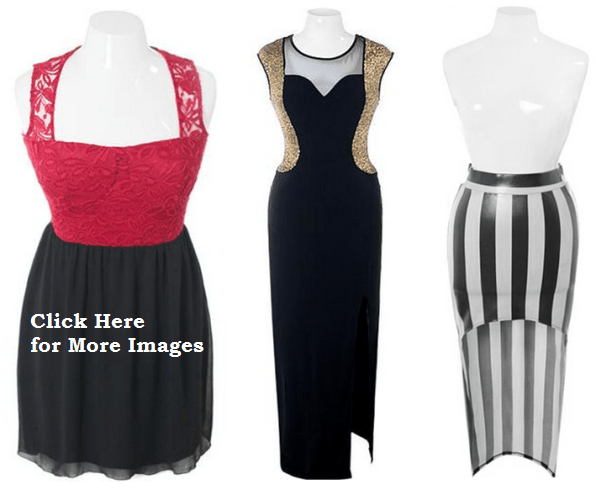 Trendy Style Of 2013 Club Dresses For Plus Size