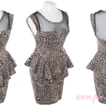 Blaster Tiger 2013 Plus Size Club Dresses With Cute Peplum Design Image