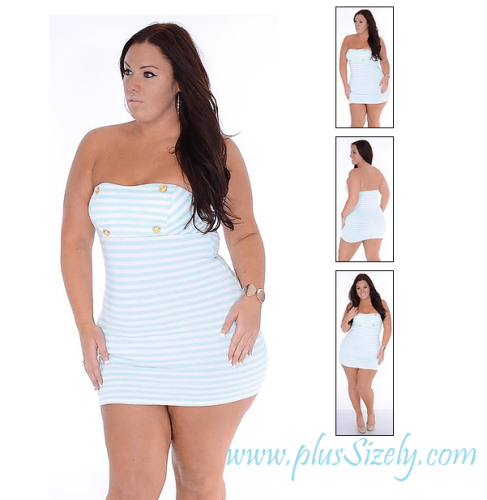 New Style White Plus Size Club Dresses Image