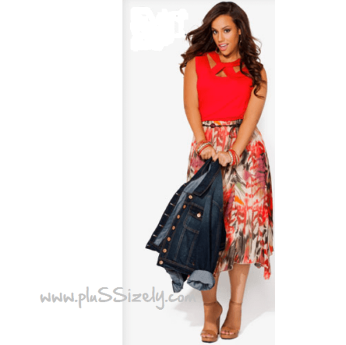 Plus Size Clothing for Fall Fashion Image