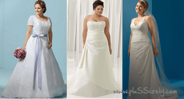 Plus Size Dresses for Special Wedding Occasions Image